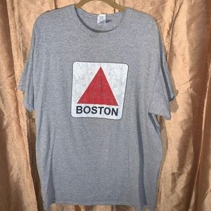 Boston grey t-shirt xl